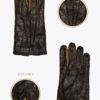 m1 uomo guanti classici ELVIRA: Guanti, giacche e accessori moda uomo e donna in pelle fatti a mano in ITALIA