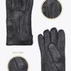 m12 uomo guanti classici ELVIRA: Guanti, giacche e accessori moda uomo e donna in pelle fatti a mano in ITALIA