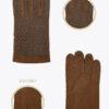 m4 uomo guanti classici ELVIRA: Guanti, giacche e accessori moda uomo e donna in pelle fatti a mano in ITALIA