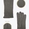 m5 uomo guanti classici ELVIRA: Guanti, giacche e accessori moda uomo e donna in pelle fatti a mano in ITALIA
