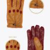 ms13 uomo guanti sportivi da guida auto ELVIRA: Guanti, giacche e accessori moda uomo e donna in pelle fatti a mano in ITALIA