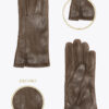 w11 donna guanti classici ELVIRA: Guanti, giacche e accessori moda uomo e donna in pelle fatti a mano in ITALIA