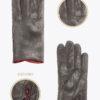 w4 donna guanti classici ELVIRA: Guanti, giacche e accessori moda uomo e donna in pelle fatti a mano in ITALIA