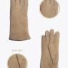 w5 donna guanti classici ELVIRA: Guanti, giacche e accessori moda uomo e donna in pelle fatti a mano in ITALIA
