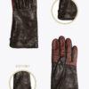 w6T TOUCH donna guanti classici ELVIRA: Guanti, giacche e accessori moda uomo e donna in pelle fatti a mano in ITALIA