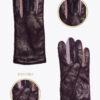 w7 donna guanti classici ELVIRA: Guanti, giacche e accessori moda uomo e donna in pelle fatti a mano in ITALIA