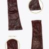 wm12 donna guanti classici lunghi ELVIRA: Guanti, giacche e accessori moda uomo e donna in pelle fatti a mano in ITALIA