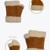 wm2 manicotto merinos donna guanti classici ELVIRA: Guanti, giacche e accessori moda uomo e donna in pelle fatti a mano in ITALIA