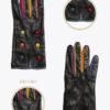 wf3 donna guanti fantasia ELVIRA: Guanti, giacche e accessori moda uomo e donna in pelle fatti a mano in ITALIA