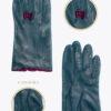 wf4 donna guanti fantasia ELVIRA: Guanti, giacche e accessori moda uomo e donna in pelle fatti a mano in ITALIA
