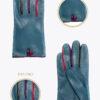 wf5 donna guanti fantasia ELVIRA: Guanti, giacche e accessori moda uomo e donna in pelle fatti a mano in ITALIA