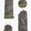 wf6 donna guanti fantasia ELVIRA: Guanti, giacche e accessori moda uomo e donna in pelle fatti a mano in ITALIA