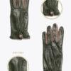 WF7 donna guanti fantasia ELVIRA: Guanti, giacche e accessori moda uomo e donna in pelle fatti a mano in ITALIA