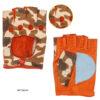 ms43 Guanti in pelle mezze dita da UOMO Guida Sport ELVIFRA: Guanti, giacche e accessori moda uomo e donna in pelle fatti a mano in ITALIA