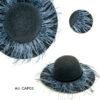 CAP03 donna cappello di moda fashion in feltro ELVIRA: Guanti, giacche e accessori moda uomo e donna in pelle fatti a mano in ITALIA
